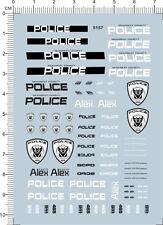 1/24 Water Slide Decals Transformers POLICE 911  (5157)