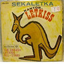 THE FINNISH LETKISS ALL-STARS - SEKALETKA / KANTOR-LETKISS 45gg