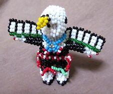 Zuni Beaded Eagle Kachina w/ Head piece by Todd Poncho M0020