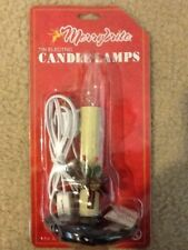 ONE MERRYBRITE TIN ELECTRIC CANDLELAMP