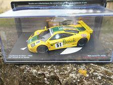McLAREN F1 GTR -63°CIRCUIT DE LA SARTHE-24H LE MANS 1995-SCALA 143