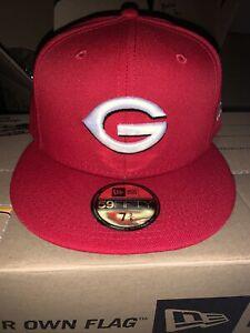 Greeneville Reds MiLB New Era Home 59Fifty Cap Hat Mens Size 7 3/8 Cincinnati