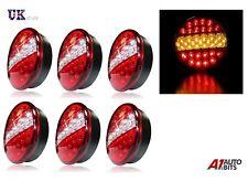 6 X 24 V LED Luces Traseras Hamburguesa Trasero Lámparas Para Camión Remolque DAF Man Mercedes