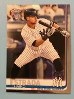 2019 Topps Chrome Update Thairo Estrada #28 RC New York Yankees