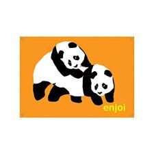 Enjoi Skateboard Banner Piggyback Pandas