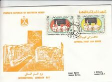 A 2629 PRSY  Literacy Sep 1969 First Day Cover, Aden cds