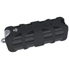 New PWPBTA70BK Rugged Splash Proof Wireless Marine Grade Bluetooth Speaker & AUX