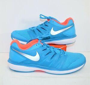 Nike Air Zoom Prestige HC & Clay Blue Womens Tennis Shoes Sz 11 NEW AA8024 403
