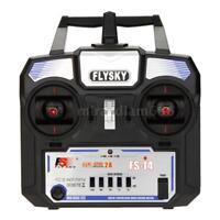 Perfect Flysky FS-i4 AFHDS 2A 2.4G 4CH Radio System Transmitter w/FS-A6 Receiver