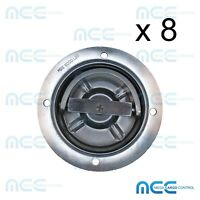 8x Rotating Recessed Heavy Duty D Ring Floor Anchor Toy Hauler Trailer Tie Down