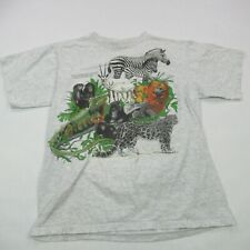 1997 Center for Endangered Species San Diego Zoo Shirt Vintage Large Made in USA