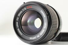 【NEAR MINT+++】 Canon FD 35mm f/2 S.S.C SSC MF Wide Angle Lens from Japan 847