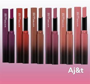 Maybelline Color Sensational Ultimatte Matte Slim Lipstick Shades