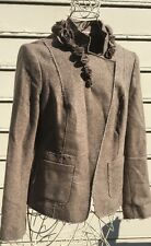 BANANA REPUBLIC Herringbone Wool Blend Jacket Sz 8