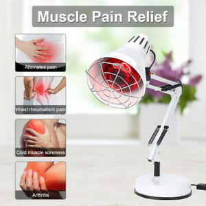 Infrared Therapy Heat Lamp Health Pain Relief Physiotherapy Red Light 150W 250V