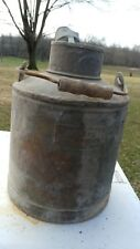 ANTIQUE BUTLER MFG FUEL OIL CAN K C MO MPLS MINN SOLID AS SHOWN 5 GALLON