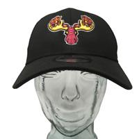 New Era Alces De Maine Baseball Cap Portland Sea Dogs Black OSFM Strap Back Hat