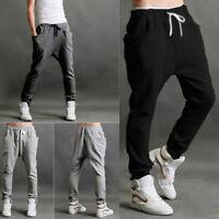 Mens Tomboy Casual Harem Baggy Hip Hop Dance Jogging Sweat Pants Slacks Trousers
