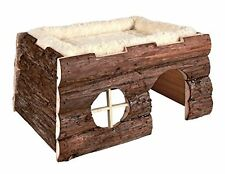 Trixie 6208 Natural Living Tilde Log House with Cuddly Bed 39 × 20 × 29 cm