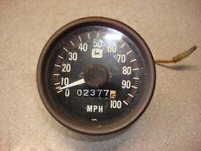 JOHN DEERE CYLONE LIQUID FIRE 340 & 440 1976 1977 SPEEDOMETER 0-100 MPH VINTAGE