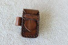 Harley Davidson Cigarette Holder and Lighter Belt Pouch Leather