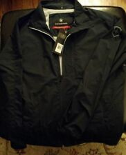 NEW VICTORINOX SWISS ARMY CLIPPER WINDBREAKER JACKET NAVY MENS L $195