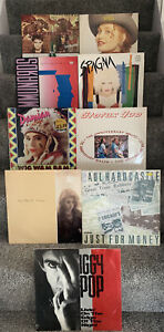 "9 x 12"" Vinyl 12"" Singles Bundle, Job Lot. All In Good Condition + 80s Pop 3523"
