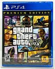 Grand Theft Auto V GTA 5 Premium Edition - PS4 - Brand New | Factory Sealed