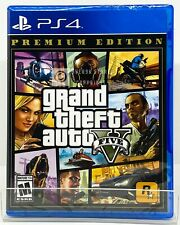 Grand Theft Auto V GTA 5 Premium Edition - PS4 - Brand New | Factory Sealed