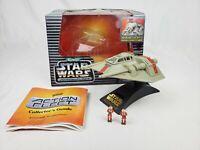 Micro Machines Star Wars Action Fleet Rebel Snowspeeder w/ Luke Skywalker 1995