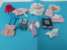 Vintage Lot vêtements Dolls barbie happy Family Heart family
