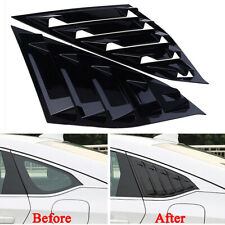Car Window Side Louvers For Honda Accord 2018 Rear Decor Practical Accessories