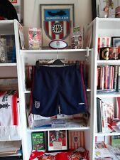 Shorts De Fútbol Inglaterra Umbro forrado Bolsillos Azul Marino