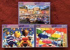 "3 Cra-Z-Art Puzzlebug 300 Piece Jigsaw Puzzles 18.25"" x 11"" Brand New Lot H"