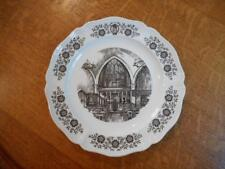 "Wedgwood Westover School Middlebury, CT 10 1/4"" plate St Margaret's Chapel 1958"