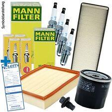 Inspektions-Set Kit Service Set / Filter + Zündkerzen für VW Golf 3 Polo 6n Lupo