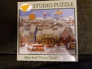 500 PC STUDIO PUZZLE Bits & Pieces Jigsaw Puzzle--COMPLETE