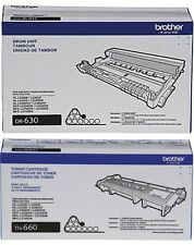 GENUINE OEM BROTHER DR630 DRUM & TN660 TONER VALUE PACK
