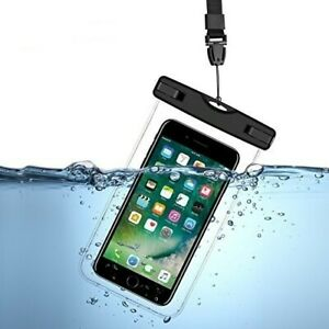 Water/Virus Proof Phone Pouch for iPhone 6 7 8 X 10 & any iPhone Plus & android