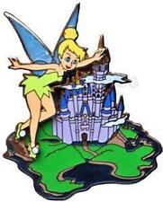 TINKER BELL+CASTLE 2007 EVENT WHERE DREAMS HapPIN EVENT LE 750 WDW Disney PIN