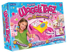 John Adams Waggle Tagz Label Tag Maker With 3D Effect Kids Activity Toy
