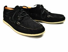 Sperry Top-Sider Haircalf Boat Shoes 12 D Topsiders Pony Hair Black 4 Eye Chukka