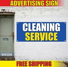 Cleaning Service Banner Advertising Vinyl Sign Flag wash room open here stuff 24