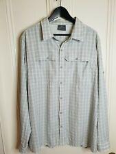 KATHMANDU Long Sleeve Durable / Lightweight Button Up Shirt Size 2XL Outdoors