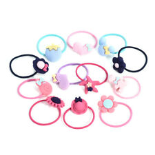 10Pcs/Set Women Girl Ties Elastic Rope Ring Hairband Ponytail Holder Accessories