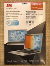 """3M Gold Privacy Filter for 13.3"""" Widescreen Laptop GF133WB"""
