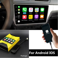 Carplay USB Dongle For Apple iPhone Android Car Auto Navigation Music Player 12V