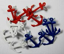 BRADS ANCHORS pk of 6 ship boat cruise scrapbooking split pin