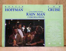RAIN MAN L'uomo della pioggia fotobusta poster Dustin Hoffman Tom Cruise AP30