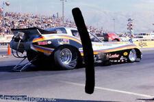"Tom ""Mongoose"" McEwen 1979 ""English Leather"" Corvette NITRO Funny Car PHOTO!"